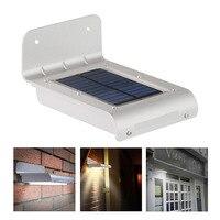Oobest 24 LED Solar Outdoor Light Panel Powered Motion Sensor Led Lamp Energy Saving Wall Lamp