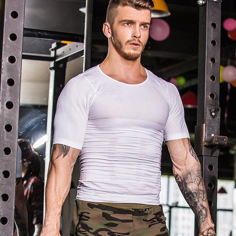 T-shirt élégant à manches courtes pour hommes, col rond, manches courtes, athlétisme, chemisier, hauts, Sport de Sport, vêtements de course