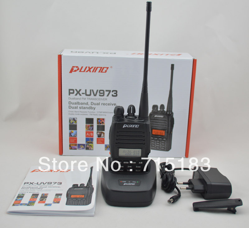 PUXING new version updated PX-888K PX two way radio PX-UV973 Dual Band FM Transciever Scanner and FM Radio фото