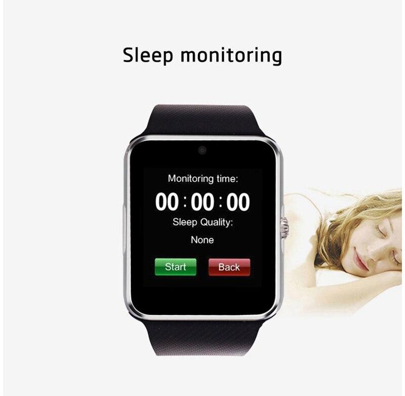 smart watch gt08 clock sync notifier with sim card