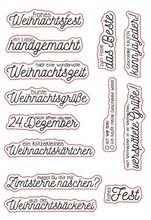 New German 1Transparent Clear Silicone Stamp/Seal for DIY scrapbooking/photo album Decorative clear stamp sheets