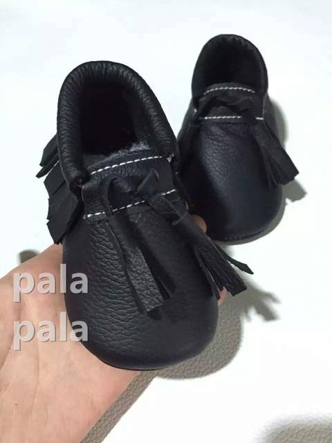 2016 New Arrival Spring baby moccasins Soft soled Lace-up Fringe Genuine leather Prewalker First Walker infant Kids shoes