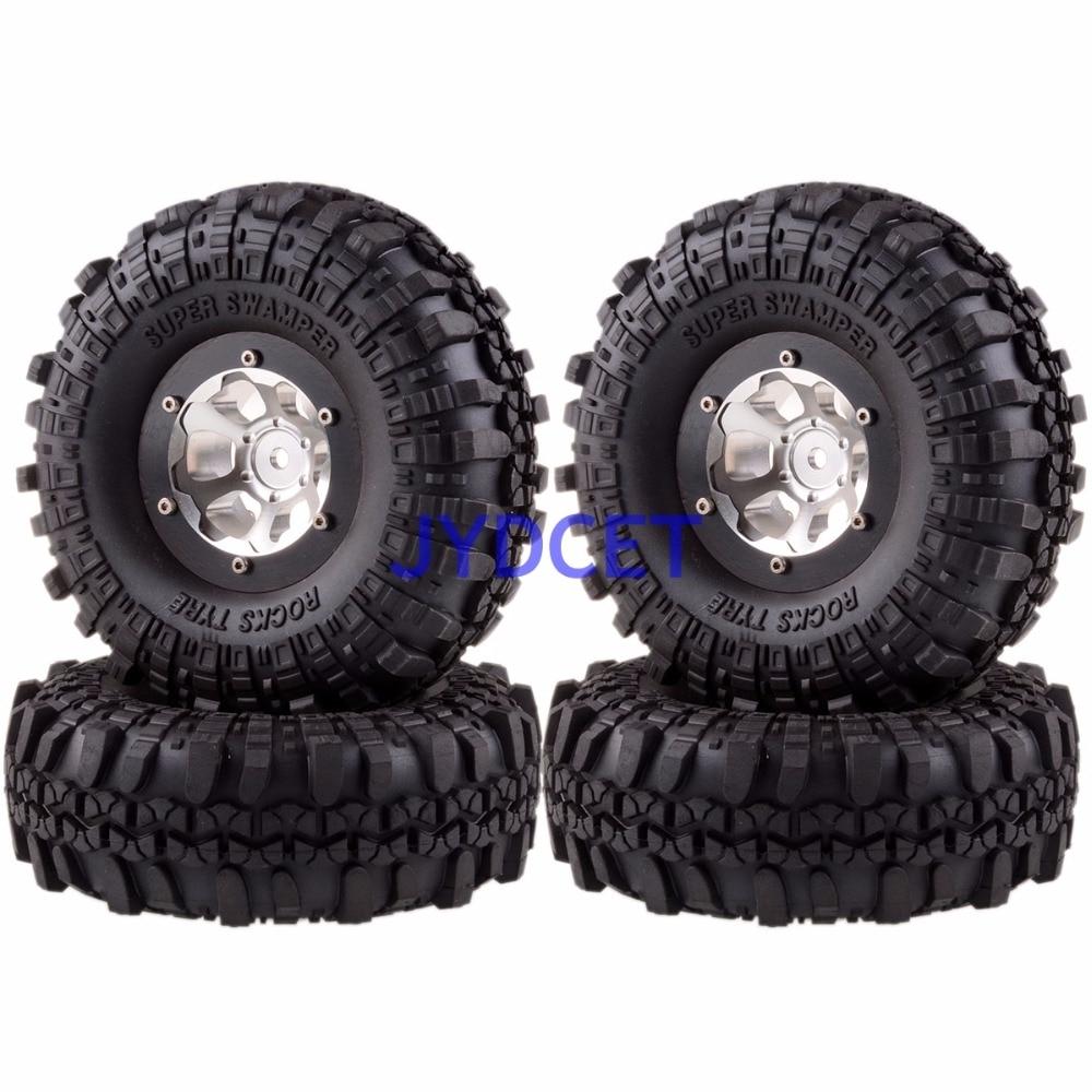 1 9 roda de metal aro super swamper pneu 1061 7035 para rc 1 10 rock