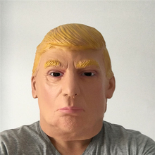 2016 US Republican Presidential candidate Donald Trump Latex Mask For Fans All Party Campaign March Supplies