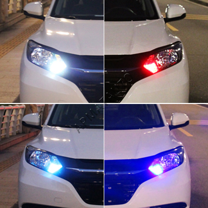 2 x T10 W5W T16 LED Parkir Lampu Sidelight Marker Lamp Bulb Canbus - Lampu mobil - Foto 5