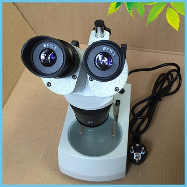 Oświetlenie górne dolne Mikroskop stereoskopowy 30X 60X Lornetka - Przyrządy pomiarowe - Zdjęcie 5