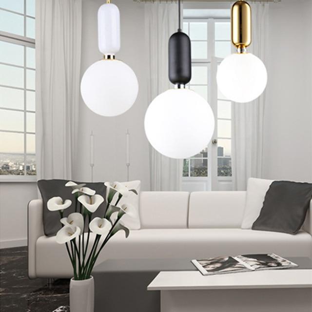 Schlafzimmer Beleuchtung Lampen Master Lichter E27 Haus 220 0sunli Anhänger Led Sphärische Us119 In Esszimmer Minimalistischen V Wohnzimmer WHbDe2YE9I
