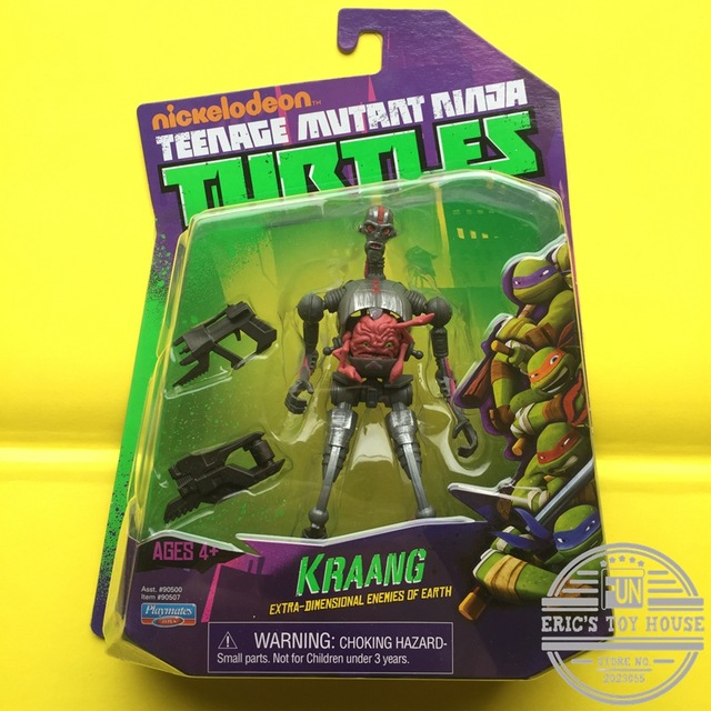 Original Classic Toy Amine Playmates Turtles Kraang Action Figure 15cm PVC Toy PVC Collectible Model Toy in box