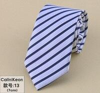 Tycoon Men Dress Up Business Marriage Celebrity Narrow Slim Blue Magenta Black Korean Student Silk Business Tie