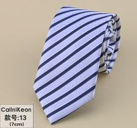Tycoon Men Dress Up Business Marriage Celebrity Narrow Slim Blue Magenta Black Korean Student Silk Business Tie
