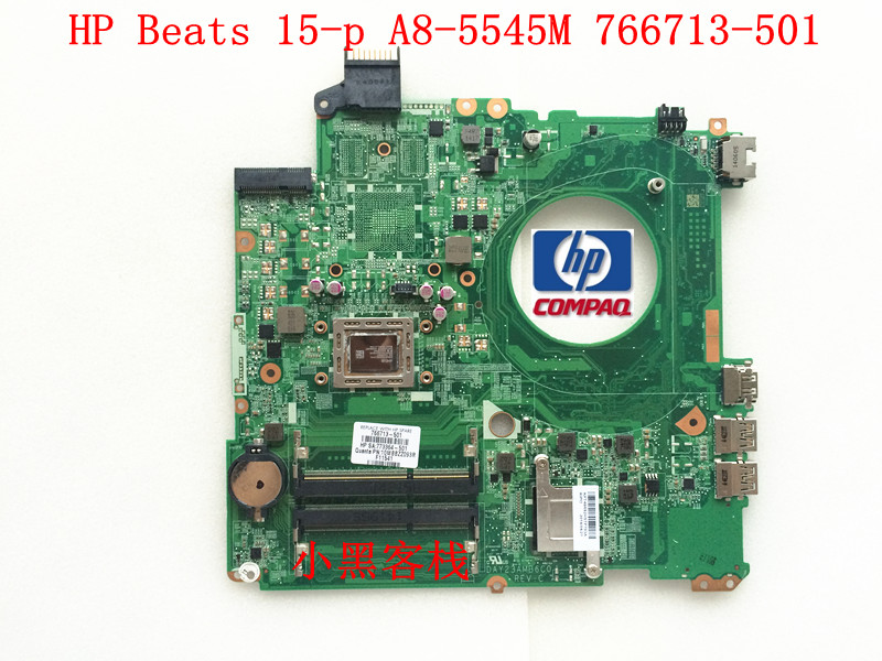 Free Shipping For HP HP BEATS 15Z-P 15P 15-P Laptop Motherboard 766713-501 DAY23AMB6C0 REV F with AMD A8-5545M 1.70Ghz CPU