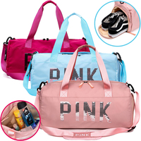 Waterproof Gym Bag Women Men Sport Bags Fitness Yoga Travel Swiming Leisure Outdoor Canvas Bag Large Capacity Training Camping