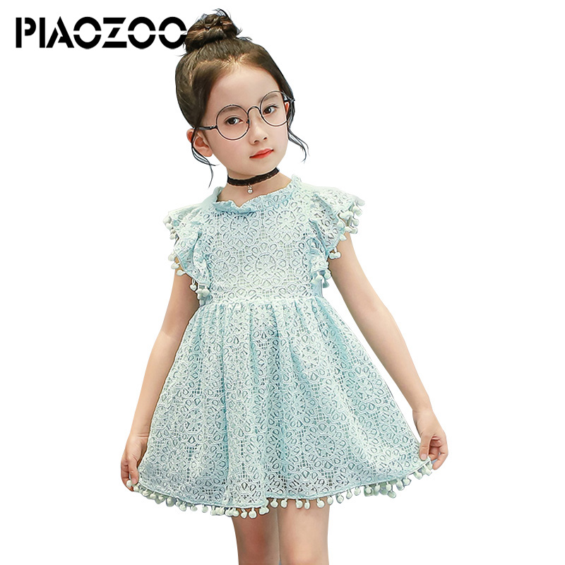Lace Princess Dress For Girl Evening Dress Summer Baby Girl Dresses Toddler Lace Tulle Girl Dresses Clothes For 2-8 Years P30 2018 toddler baby long sleeve dress baby girl clothing flower infant girl dresses spring lace princess party prom tulle dresses