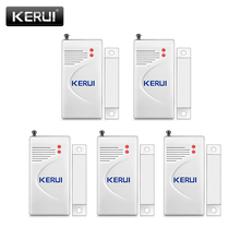 KERUI Door Window Wireless Burglar Alarm with Magnetic Door Sensor Home Safety Wireless Alarm System Security Device White