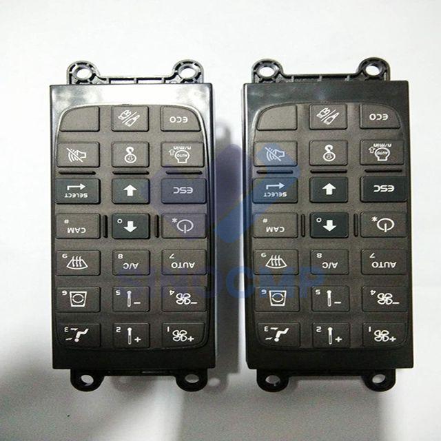 EC120D EC140D EC160D Panel de interruptor VOE14568905 VOE14594714 para excavadora Volvo, 3 meses de garantía