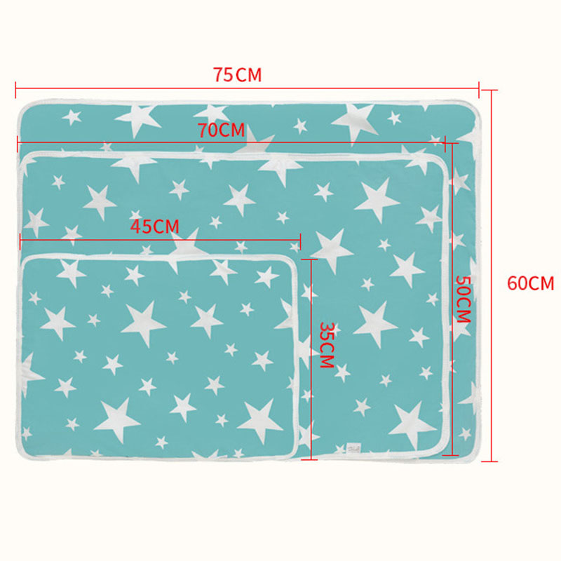 Size Xcm Xcm Baby Changing mat Portable Foldable Washable waterproof mattress children game Floor mats Reusable