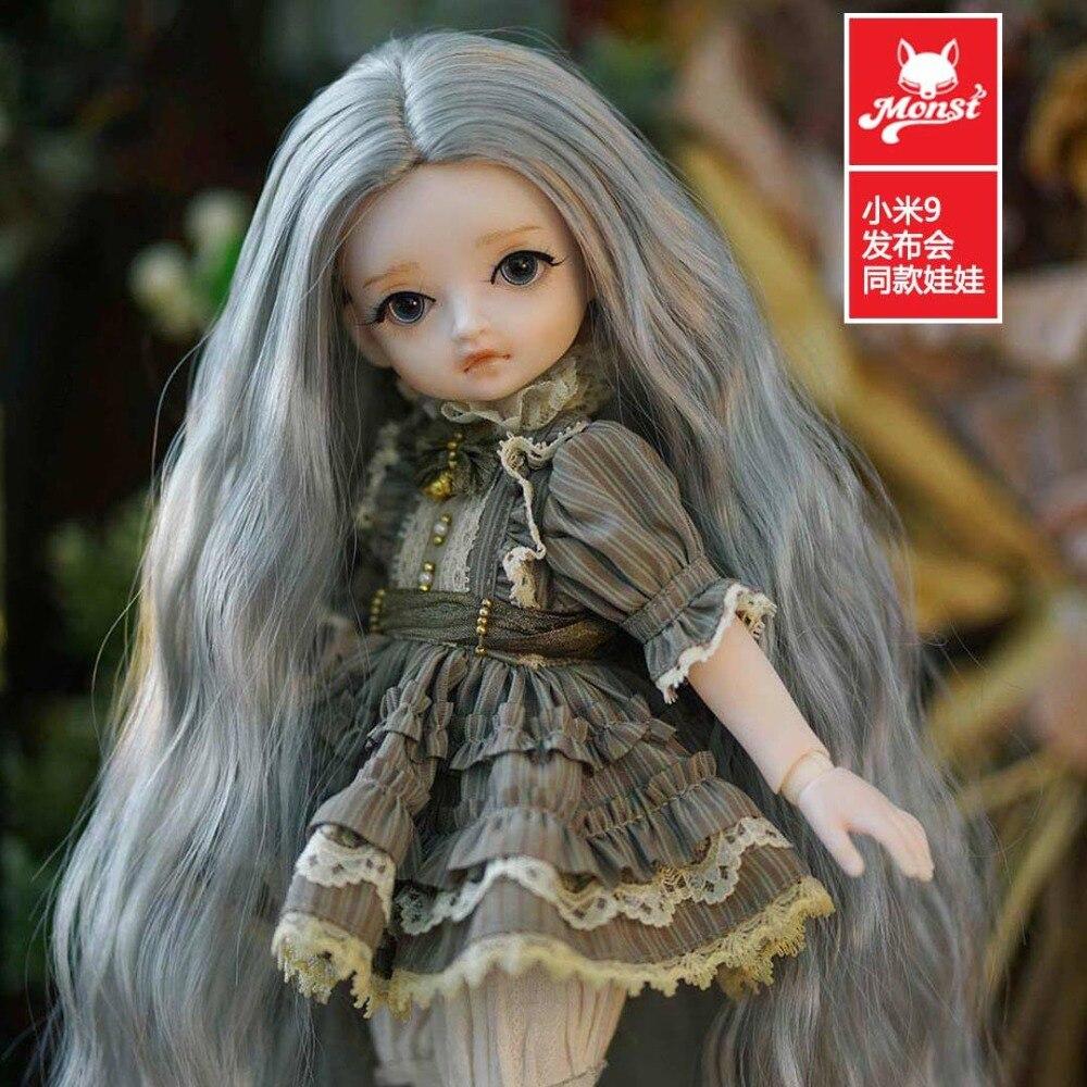Original xiaomi mijia Monst BJD Joints poupée vacances cadeau stagiaire Lolita filles poupées réalistes Figure cadeau décor Collection - 3