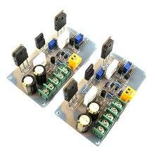 Placa amplificadora A30 de potencia HI FI, placa amplificadora de potencia para el hogar, Clase A pura, placa amplificadora trasera pequeña de potencia de 2 canales