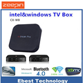 Z8300 CX Wintel W8 Pro Mini PC Windows 10 OS CPU 2 GB 32 GB 2.4G Wifi BT4.0 RJ45 100 M Ventanas Set Top TV Smart Box Media Player