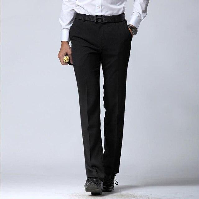01b89a7f9c7 Manoble Pantalones de Vestir Para Hombre 2016 Nuevo Estilo Coreano de Los  Hombres Traje pantalones Hombres