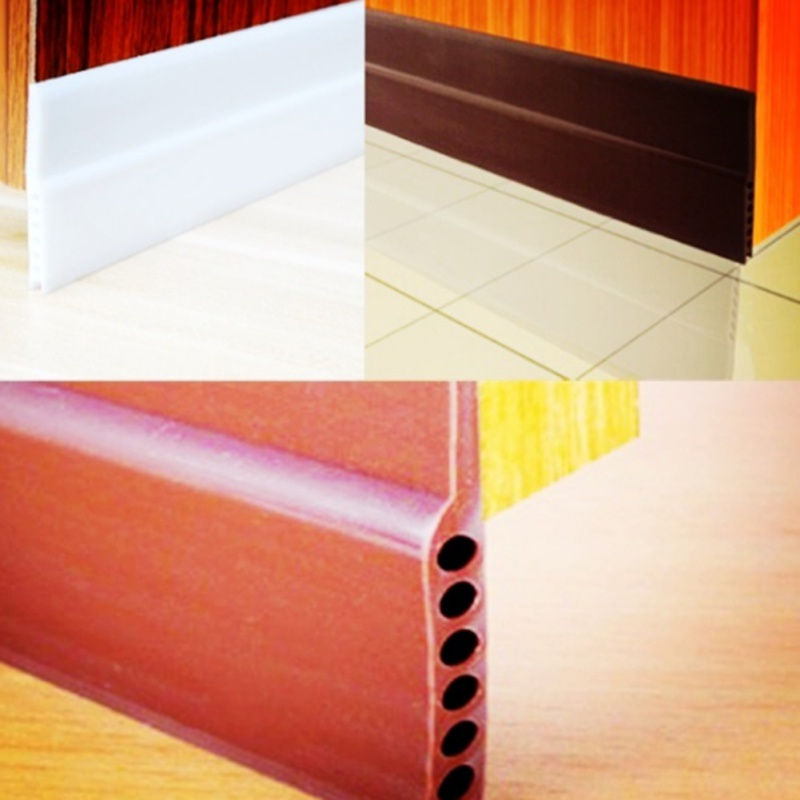 Self Adhesive 3m Rubber Sealing Strip Weatherstriping Sound Insulation Silicone Bottom Door Window Tape