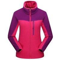 Fleece Sport Jacket Women Softshell Sport Coat New Thermal Lady Windbreaker Outdoor Clothing Warm Jogging Caot Running Jackets