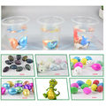 Small children's educational toy color crack dinosaur egg expansion toy Easter eggs hatching eggs