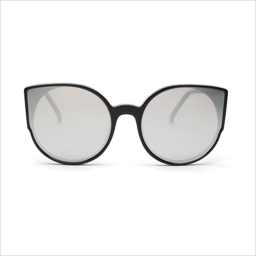 Winful Hot Cat Eye Sunglasses Women Reflective Lens Glasses Male Fashion Eyewear for women oculos de sol gafas UV400
