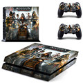 New Assassins Creed Syndicate play 4 Skin 1Set Vinyl Decal Skin For play station 4 Console PS4+2Pcs Stickers For Ps4 Accessories