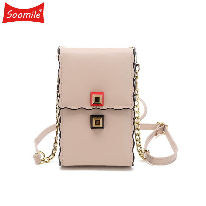 Soomile Women Wallet High Quality Female Phone Messenger Bags Portomonee Rfid Luxury Brand Money Bag Long Clutch Lady Coin Purse