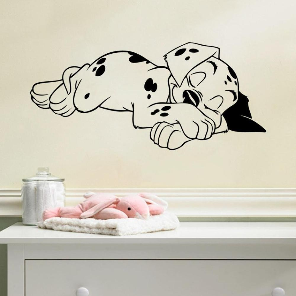 New style children 39 s bedroom wall stickers sleeping little - Childrens bedroom wall stickers removable ...