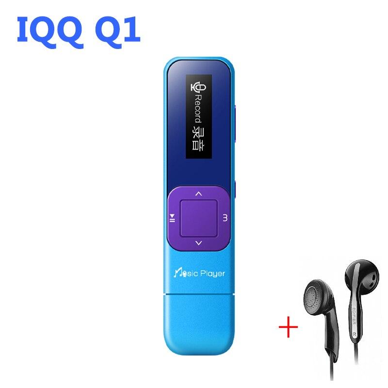 Мини USB fm-радио MP3 плеер 8 ГБ без потерь hifi-плеер MP-3 с радио Reproductor MP 3 USB плеер iqq q1 MP-3 плеер flash FM
