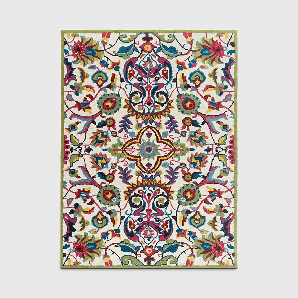 Fashion Pastoral Country Bohemia Ethnic European Floral