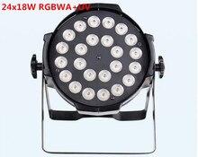 Светодио дный 24×18 Вт светодиодные лампы Par rgbwa УФ 6всветодио дный 1 Светодиодные лампы par