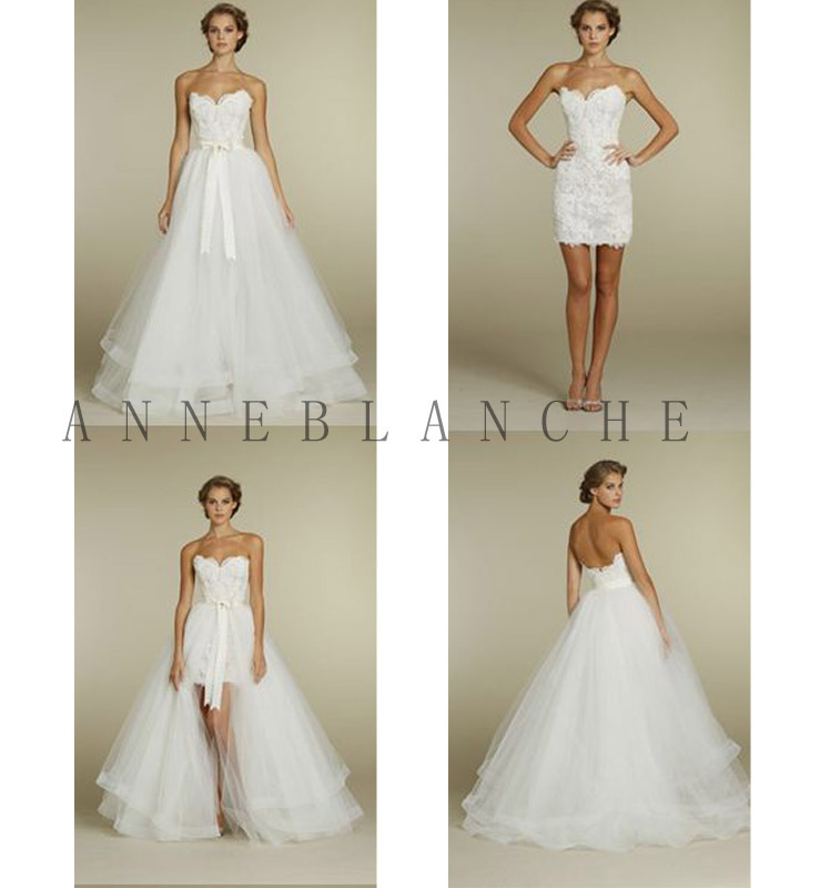 Old Fashioned Detachable Wedding Dress Bottom Collection - Wedding ...