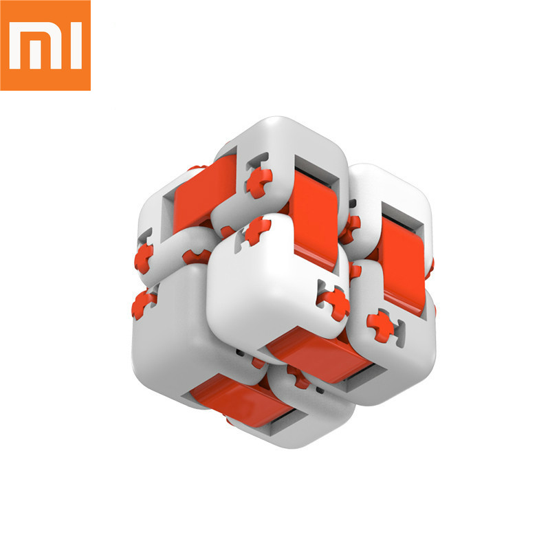 Original xiaomi Smart mitu Cubes Spinner Finger Bricks Intelligence Toys Fidget Magic Cubes Infinity Toys Anti Stress Anxiety(China)