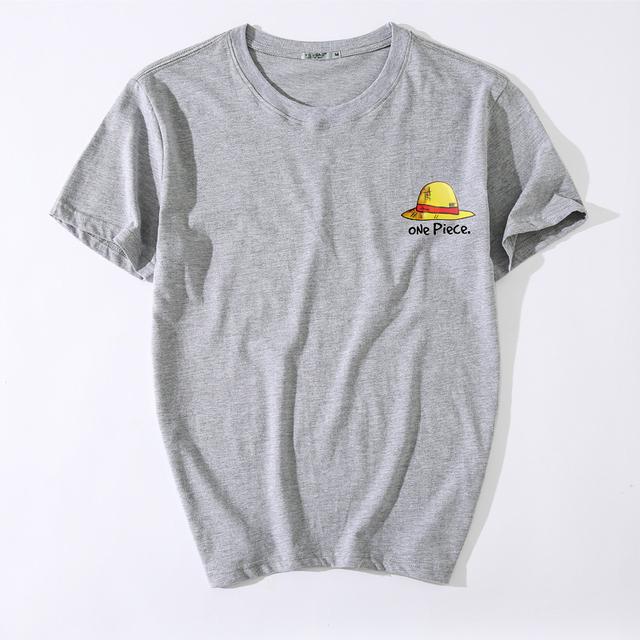 Camiseta estampada de One Piece para hombre