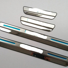 4 шт., Накладка на порог для Lexus NX 200 NX200T 300H, автомобильный Стайлинг, приветственная накладка на педаль, наклейки для автомобиля, аксессуары