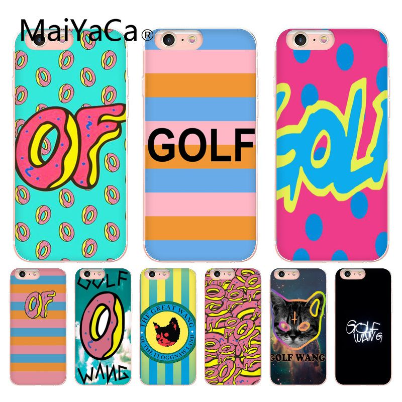 MaiYaCa New Golf Wang Odd Future Colorful Cute Phone Accessories Case For Apple iphone 5 5s 5c SE And 6s 7 8 Phone case