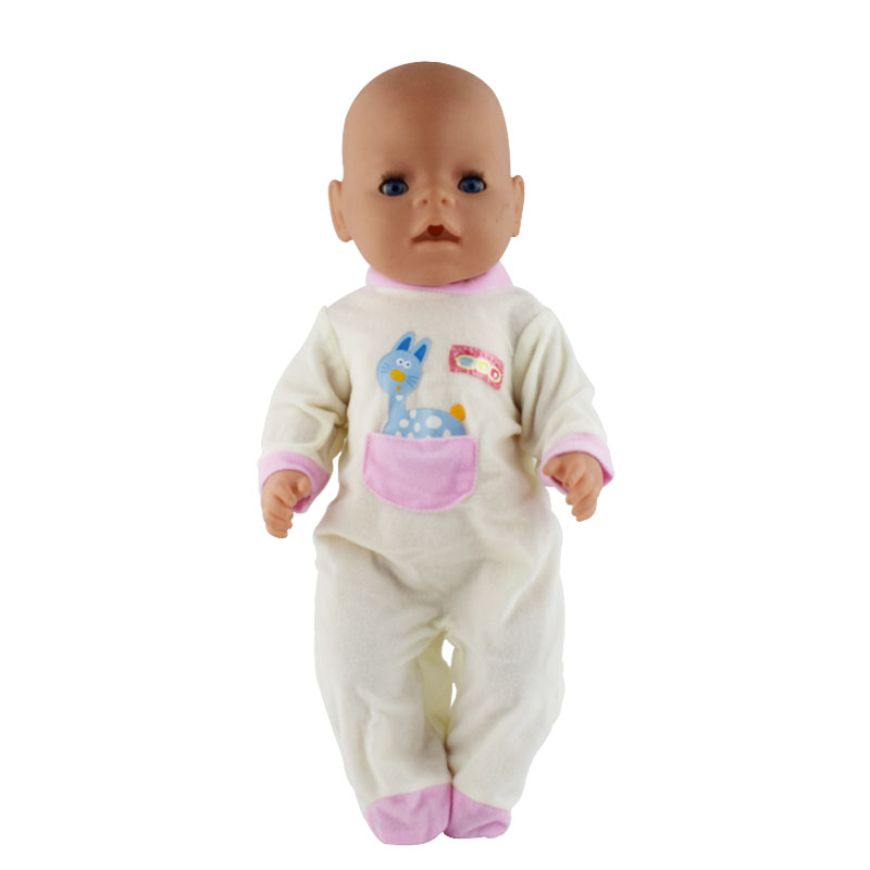 Baby Born Doll outfit Color striped shirt Fit For 43cm Zapf Baby Born Doll Cute for 18 inch Doll Clothes Children Gifts summer set for 18 american girl doll bikini cap summer swimming suit with hat also fit for 43cm baby born zapf doll clothes
