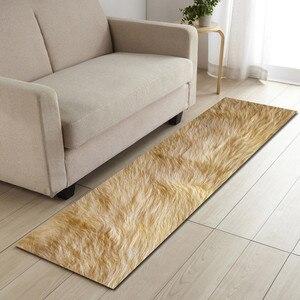 Image 4 - Spedizione gratuita mucca pelliccia artificiale Badkamer tappetino da bagno porta pavimento Tapete Banheiro tappeto per Toliet antiscivolo Alfombra Bano