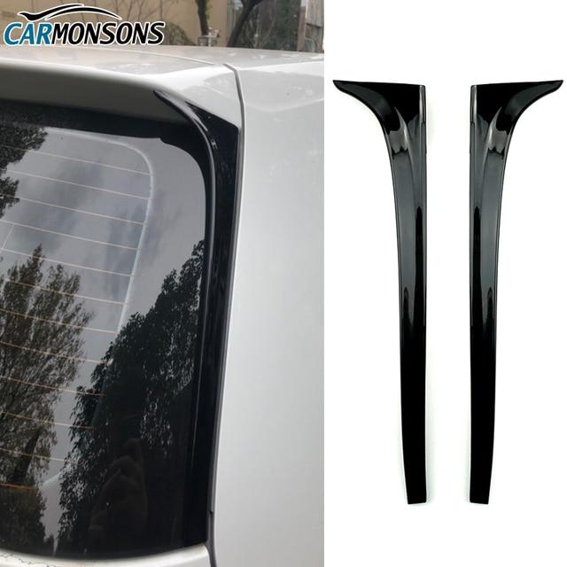 폭스 바겐 골프 용 Carmonsons 7 MK7 리어 윙 사이드 스포일러 스티커 트림 커버 액세서리 자동차 스타일링