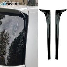 Carmonsons per Volkswagen Golf 7 MK7 Posteriore Ala Spoiler Laterale Adesivi Trim Copertura Accessori Auto Car Styling