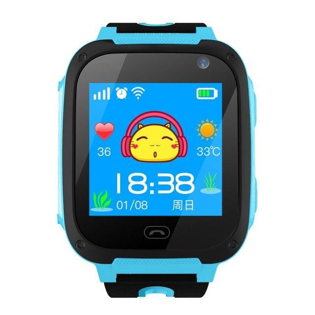 1.44 Inch Touch Screen G36M-S4 Children Smart Watch SOS Emergency Alarm Camera Anti-Lost Kids Safe Sleep Health Watch