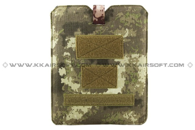 1000D tactical molle magazine pouch nylon case for ipad tablet (A-Tacs) bd8325