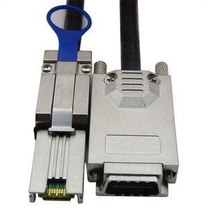 Image 2 - CableDeconn Infiniband SFF 8470 SAS34 To MINI SAS26P SFF 8088 Data Transfer Cable, 1M