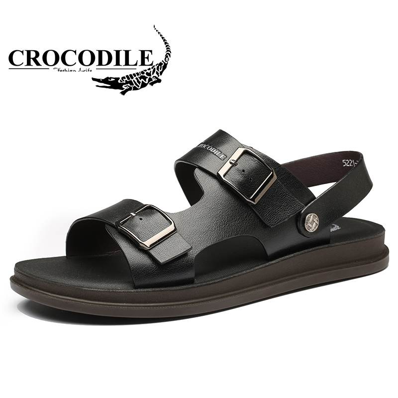 Crocodile Men Summer Sandals Male Slipper Beach Shoes Men Outdoor Footwear Men Sport shoes Sandals Water