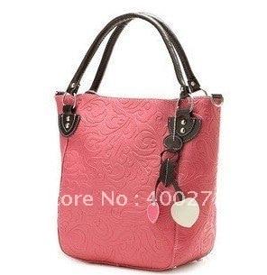 Wholesale &retail free shipping  girl Handbag  /Fashion Lady handbag / handbag Single shoulder bag Inclined satchel  8008