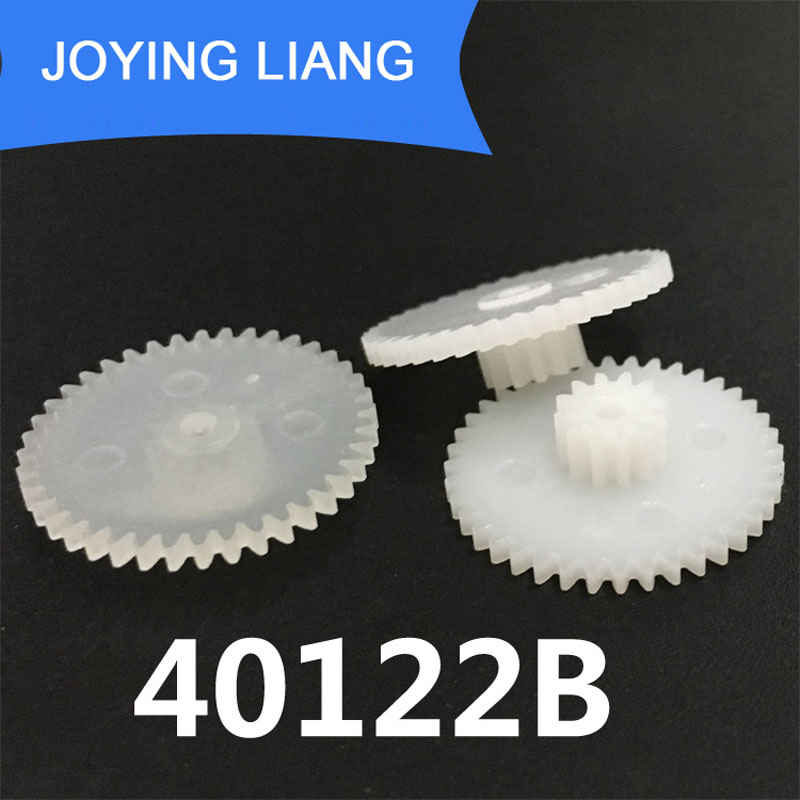 40122A 40122B 0.5M Gear Wheels 21mm Outer Diameter Plastic Toy Parts For Toys Gears 10PCS/LOT