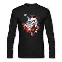 Metal Rock Humor T Shirt Mens Long Sleeve Big Size Blouses Creator Rockstar Unicorn With Wifi